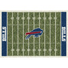 Milliken 3-ft 10-in x 5-ft 4-in Buffalo Bills NFL Homefield Area Rug