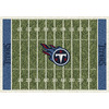 Milliken 3-ft 10-in x 5-ft 4-in Tennessee Titans NFL Homefield Area Rug