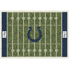 Milliken 3-ft 10-in x 5-ft 4-in Indianapolis Colts NFL Homefield Area Rug