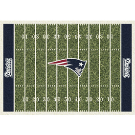 Milliken 7-ft 8-in x 10-ft 9-in New England Patriots NFL Homefield Area Rug