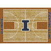 Milliken 3-ft 10-in x 5-ft 4-in Rectangular University of Illinois Area Rug
