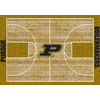 Milliken 3-ft 10-in x 5-ft 4-in Rectangular Purdue University Area Rug