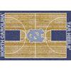 Milliken NCAA Home Court Multicolor Rectangular Indoor Tufted Sports Area Rug (Common: 4 x 6; Actual: 46-in W x 64-in L)