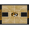 Milliken 3-ft 10-in x 5-ft 4-in Rectangular University of Missouri Area Rug