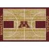 Milliken 3-ft 10-in x 5-ft 4-in Rectangular University of Minnesota Area Rug