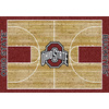 Milliken 5-ft 4-in x 7-ft 8-in Ohio State University College Basketball Area Rug