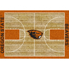 Milliken 5-ft 4-in x 7-ft 8-in Rectangular Oregon State University Area Rug
