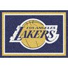 Milliken 5-ft 4-in x 7-ft 8-in Los Angeles Lakers NBA Area Rug