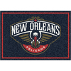 Milliken 2-ft 8-in x 3-ft 10-in Rectangular NBA New Orleans Hornets Accent Rug