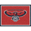 Milliken 2-ft 8-in x 3-ft 10-in Rectangular NBA Atlanta Hawks Accent Rug