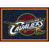 Milliken 2-ft 8-in x 3-ft 10-in Rectangular NBA Cleveland Cavalier Accent Rug
