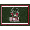Milliken 2-ft 8-in x 3-ft 10-in Rectangular NBA Milwaukee Bucks Accent Rug