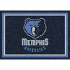 Milliken 2-ft 8-in x 3-ft 10-in Rectangular NBA Memphis Grizzlies Accent Rug