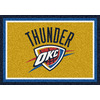 Milliken 2-ft 8-in x 3-ft 10-in Rectangular NBA Oklahoma City Thunder Accent Rug