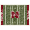 Milliken 3-ft 10-in x 5-ft 4-in Nebraska College Football Area Rug