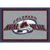 Milliken NHL Spirit Multicolor Rectangular Indoor Tufted Sports Area Rug (Common: 8 x 10; Actual: 92-in W x 129-in L)