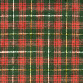 Joy Carpets Bit O&#039; Scotch Tartan Green Cut Pile Indoor Carpet