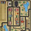 Joy Carpets Playful Patterns Sandstone Cut and Loop Indoor Carpet