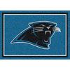 Milliken NFL Spirit Blue Rectangular Indoor Tufted Sports Area Rug (Common: 4 x 6; Actual: 46-in W x 64-in L)
