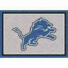Milliken NFL Spirit Gray Rectangular Indoor Tufted Sports Area Rug (Common: 4 x 6; Actual: 46-in W x 64-in L)