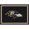 Milliken 7-ft 8-in x 10-ft 9-in Baltimore Ravens NFL Spirit Area Rug