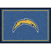 Milliken 5-ft 4-in x 7-ft 8-in San Diego Chargers NFL Spirit Area Rug