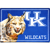 Joy Carpets 2-ft 8-in x 3-ft 10-in Rectangular NCAA Kentucky Wildcats Accent Rug