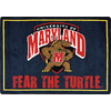 Joy Carpets 2-ft 8-in x 3-ft 10-in Rectangular NCAA Maryland Terrapins Accent Rug