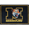 Joy Carpets Joy Carpets College Mascot Rugs 64-in x 92-in Rectangular Multicolor Sports Area Rug