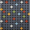 Joy Carpets Playful Patterns Gray Cut and Loop Indoor Carpet