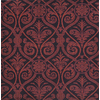 Joy Carpets Damascus Burgundy Cut Pile Indoor Carpet