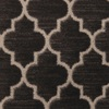 STAINMASTER Modern Black Nylon Fashion Forward Carpet Sample