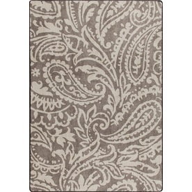 Milliken Mix and Mingle Rectangular Brown Transitional Tufted Area Rug (Common: 5-ft x 7-ft; Actual: 5.33-ft x 7.66-ft)