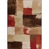 Milliken Mix and Mingle 64-in x 92-in Rectangular Red/Pink Transitional Area Rug