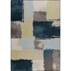 Milliken Mix and Mingle 46-in x 64-in Rectangular Blue Transitional Area Rug