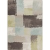Milliken Mix and Mingle 92-in x 129-in Rectangular Blue Transitional Area Rug