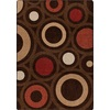 Milliken Mix and Mingle 92-in x 129-in Rectangular Brown/Tan Transitional Area Rug