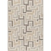 Milliken Mix and Mingle 46-in x 64-in Rectangular Cream/Beige/Almond Geometric Area Rug