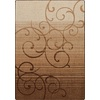 Milliken Mix and Mingle 32-in x 46-in Rectangular Brown/Tan Transitional Accent Rug