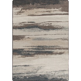 Milliken Mix and Mingle Gray Rectangular Indoor Tufted Area Rug (Common: 7 x 10; Actual: 92-in W x 129-in L)