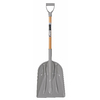 Blue Hawk Short-Handle Wood Scoop