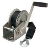 Reese 1,500-lb Capacity Towpower Winch with 20-ft Strap and Hook