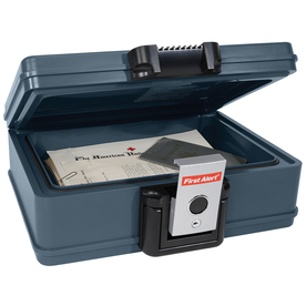 First Alert 0.19-cu ft Waterproof Chest Safe