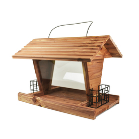 Pennington Cedar Hopper Bird Feeder