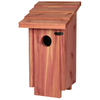 Garden Treasures 6.75-in W x 12.75-in H x 6.5-in D Cedar Wood Bird House