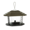 Garden Treasures Plastic Hopper Bird Feeder
