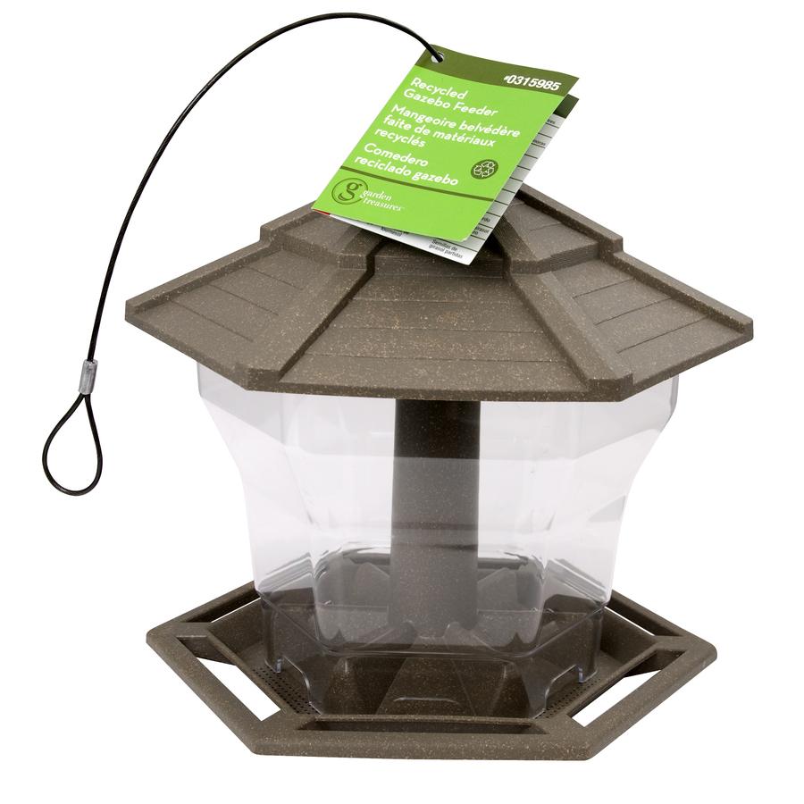 Shop CedarWorks Plastic Hopper Bird Feeder at Lowes.com