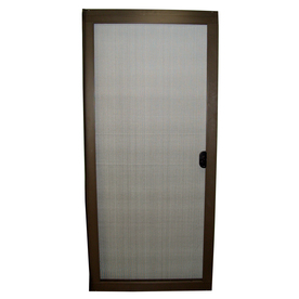 Shop ritescreen bronze aluminum sliding screen door Screen door replacement