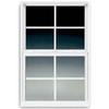 BetterBilt 3000TX Aluminum Double Pane Single Strength New Construction Egress Single Hung Window (Rough Opening: 24-in x 36-in; Actual: 23.375-in x 35.5625-in)