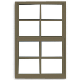 BetterBilt 3000TX Aluminum Double Pane Single Strength New Construction Single Hung Window (Rough Opening: 32-in x 36-in; Actual: 31.375-in x 35.5625-in)